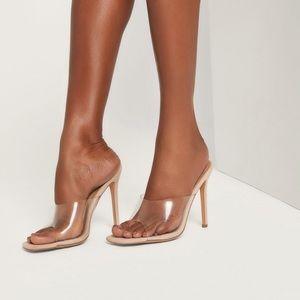 Meshki Drea Clear Heels